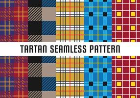 Tartan Naadloos Patroon vector