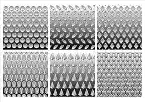 Metal Grey Gradient Gratis Vector