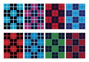 Flanel Pattern Vector Pack