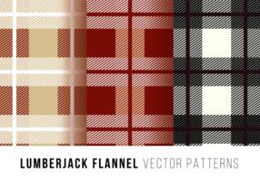 Lumberjack Flanel Gratis Vector