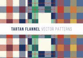 Tartan Flanel Gratis Vector