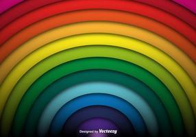 Vector Achtergrond van de Regenboog