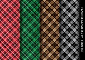 Casual Flanel Pattern vector