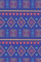 etnische handgemaakt. tribal motief textuur decoratie achtergrond