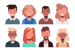 mensen avatar set