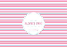 Valentine's kleurrijke strepen Achtergrond vector