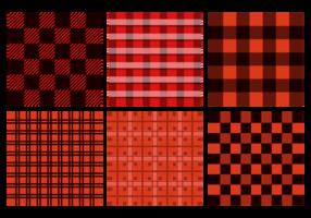 Naadloos Flanel Pattern Vector