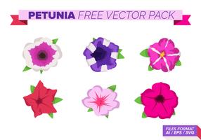 Petunia Gratis Vector Pack