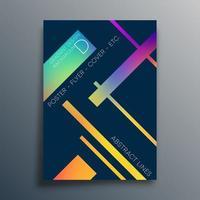 lineaire kleurovergang textuur voor behang, flyer, poster, brochure