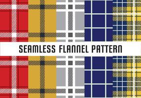 Flanel Naadloos Patroon vector