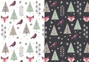 Gratis Animal Winter Pattern vector