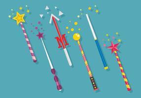 Magic Stick Vector Art