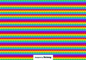 Colorful Pixels Template - Vector