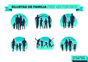 Familia Gratis Vector Pack