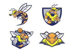 Gratis Hornets Mascotte vector