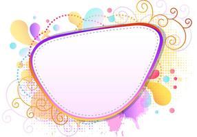 Colorfull Plons van Funky Frames vector