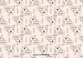 Lineaire Geometrisch Patroon vector
