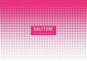 Gratis Vector Modern Roze Halftone backgrpound