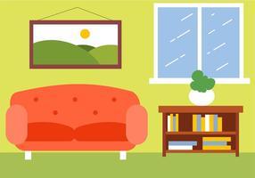 Gratis Vector Room Illustration