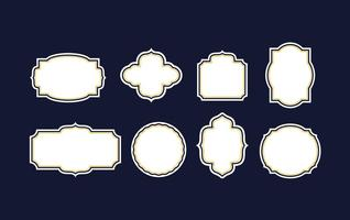 Cartouche Frame Vector Pack