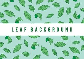 Green Leaf achtergrond vector