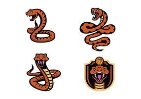 Gratis Rattlers Snake Mascotte