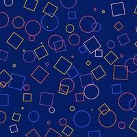 geschetste geometrische patronen achtergrond