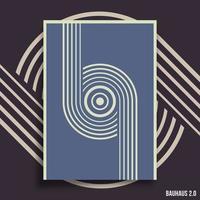 minimale geometrische ontwerpachtergrond vector