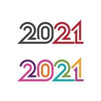 2021 Nieuwjaar pictogram