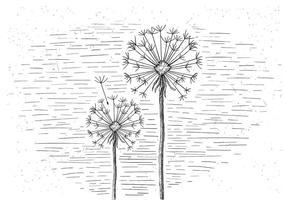 Gratis Vector Illustratie van de bloem