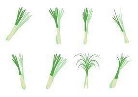Gratis Lemongrass Icons Vector