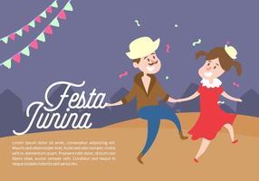Festa Junina Achtergrond vector