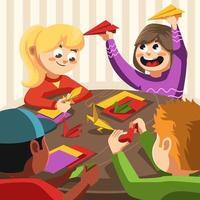 leuk origami knutselen met vrienden