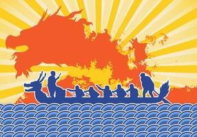 Dragon Boat Festival Event Art vector