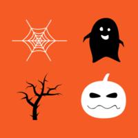halloween-elementen instellen