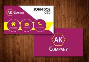 Creative Business Card vector