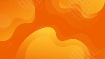 abstract kleurrijk dynamisch vormenontwerp als achtergrond vector