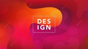 abstracte kleurrijke vloeibare gestructureerde achtergrond vector