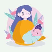 familierelatie concept vectorillustratie