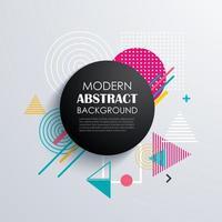 abstract cirkel geometrisch patroonontwerp
