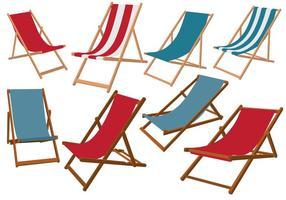 Deck Chair Vectoren