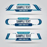 onderste derde wit en blauw ontwerp