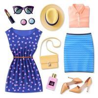 realistische dameskleding set