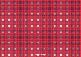 Blauw / Rood Flanel Achtergrond van het Patroon vector