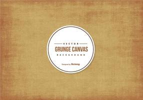 Grunge canvas textuur achtergrond vector