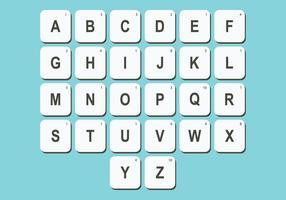 Scrabble Letter Vector Pack