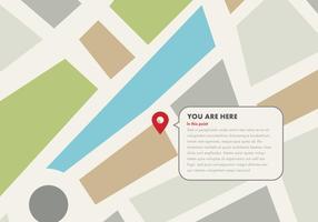 Spotting Uw locatie Vectors