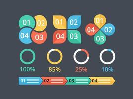 Gratis Vector Infographic Elements