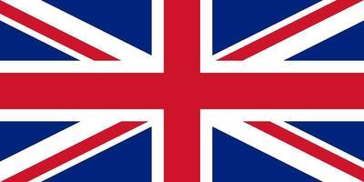 Verenigd Koninkrijk Groot-Brittannië vlag vector