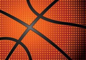 Geklonken Basketbal Texture Vector